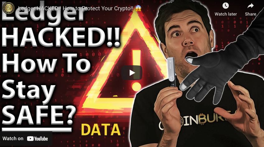 Ledger HACKED!! How to Protect Your Crypto!!