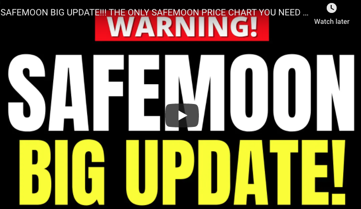 SAFEMOON BIG UPDATE!!! THE ONLY SAFEMOON PRICE CHART YOU NEED TO SEE BEFORE YOU BUY!