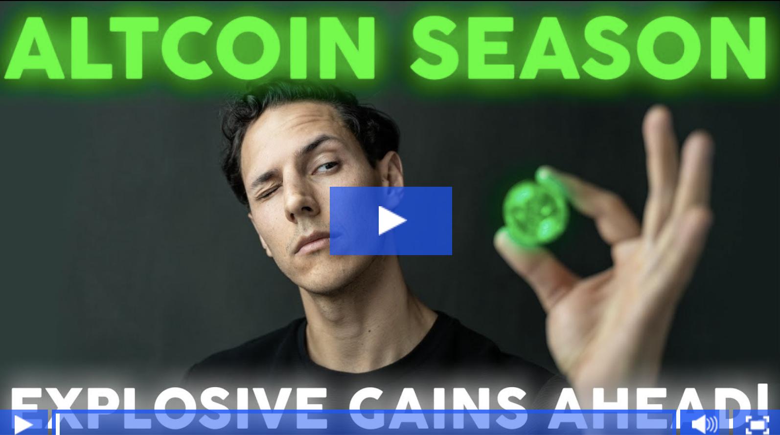 Explosive Growth With Altcoins